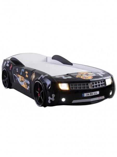 Ліжко-машина Camaro пластик чорна