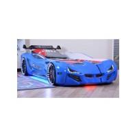 Кровать-машинка BMW синяя