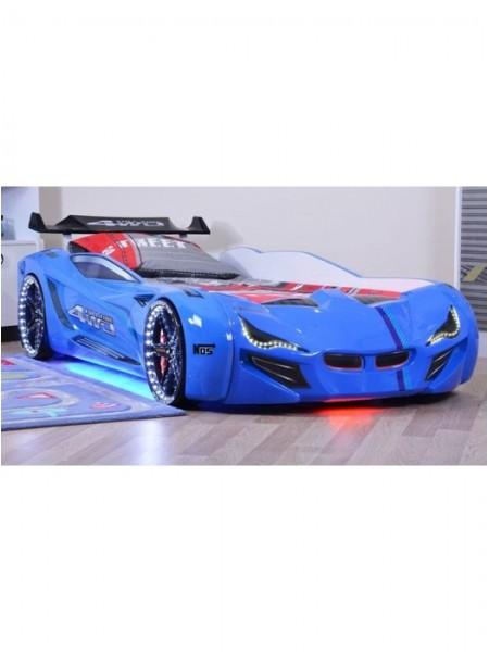 Ліжко-машинка Mercedes синя
