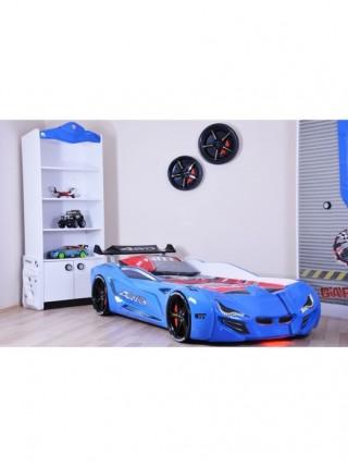 Ліжко-машинка BMW синя