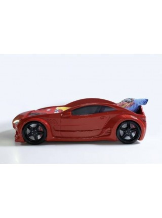 Кровать-машинка для детей GT красная Турция