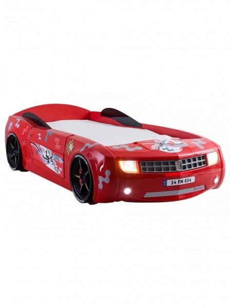Кровать-машина Camaro пластик красная