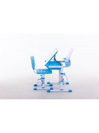 Комплект меблів шкільних (стіл учнівський та стілець учнівський) арт.31213 Blue