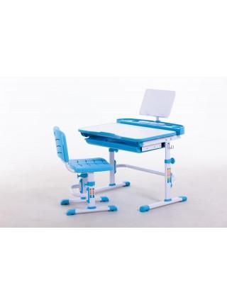 Комплект меблів шкільних (стіл учнівський та стілець учнівський) арт.31231 Green