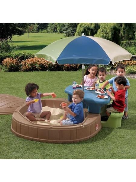 Пісочниця зі столом для пікніка SUMMERTIME PLAY CENTER