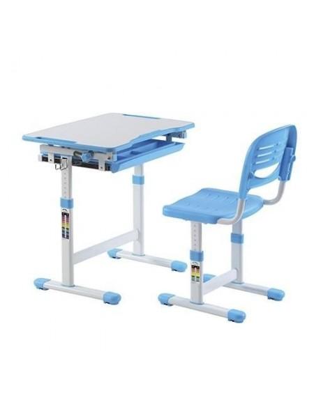Комплект меблів шкільних (стіл учнівський та стілець учнівський)  арт.А314 W Blue