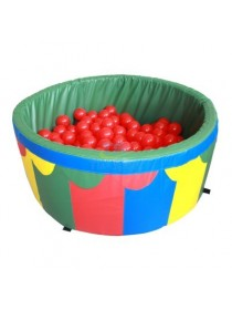 Сухой бассейн для дома с шариками 100*40*5 см Tia-Sport