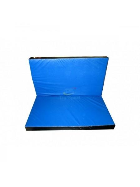 Мат складаний 120-100-8 см з 2-х частин Тia-sport