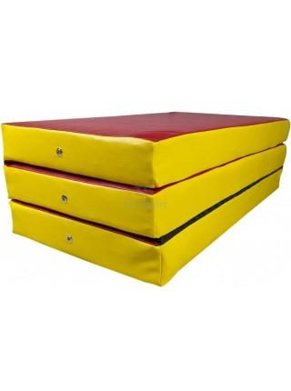 Мат складаний 150-100-10 см з 3-х частин Тia-sport