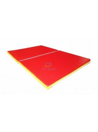 Мат складаний 150-100-5 см з 2-х частин Тia-sport
