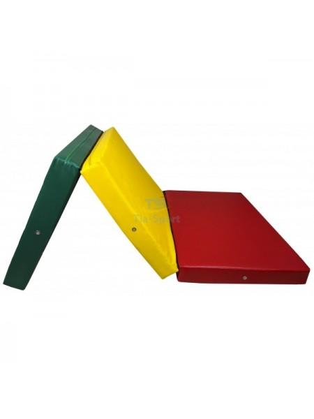 Мат складаний 200-100-10 см з 3-х частин Тia-sport