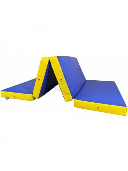 Мат складаний 200-100-10 см з 4-х частин Тia-sport