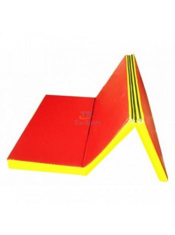 Мат складной 200-100-5 см с 3-х частей Тia-sport