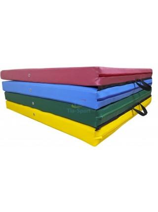 Мат складаний 400-100-8 см з 4-х частин Тia-sport