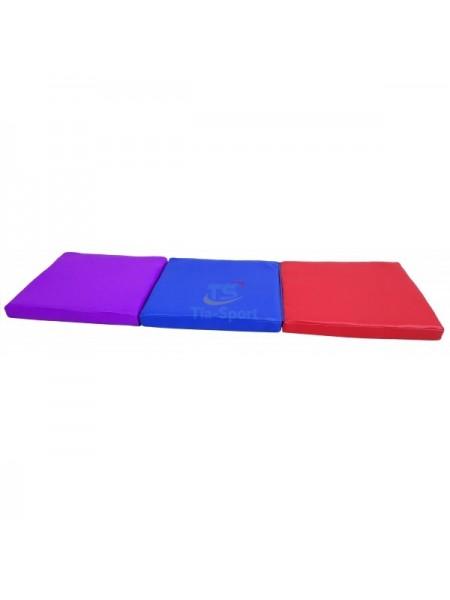 Мат складаний дитячий 150-50-5 см з 3-х частин Тia-sport