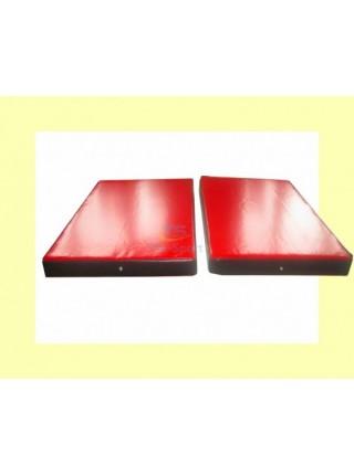 Мат складаний ПВХ 150-100-8 см з 2-х частин Тia-sport