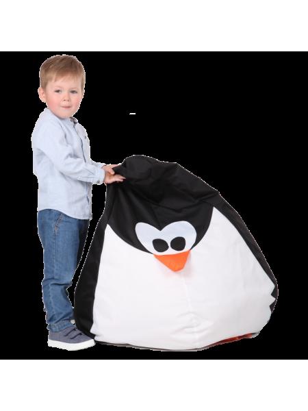 Крісло-мішок Хатка Пінгвін дитяче (до 5 років)