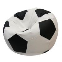 Кресло-мешок Мяч Хатка средний Бежевый с Черным