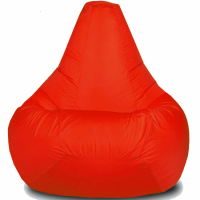 Кресло-мешок Груша Хатка большая Красная