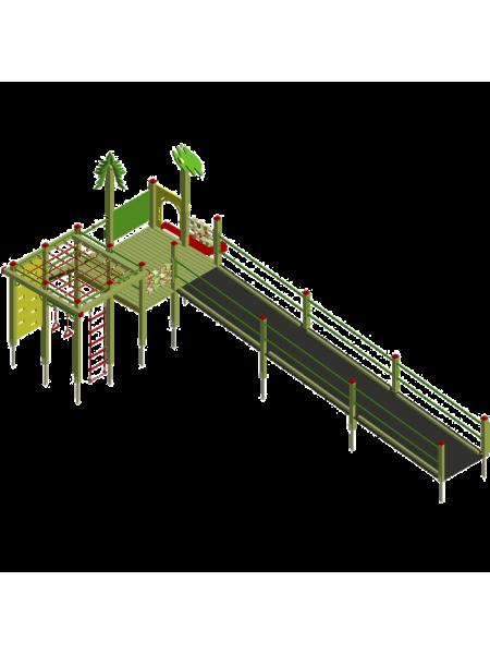 Игровой комплекс «Лесовичок» И04