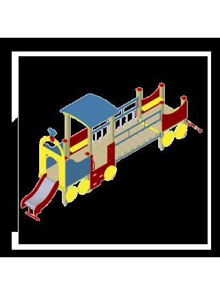 Поїзд 04 з гіркою і рухомим містком