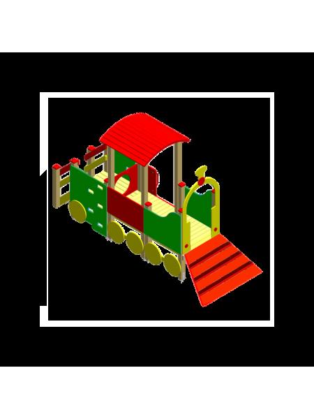 Поїзд 05 з трапом і вагонеткою