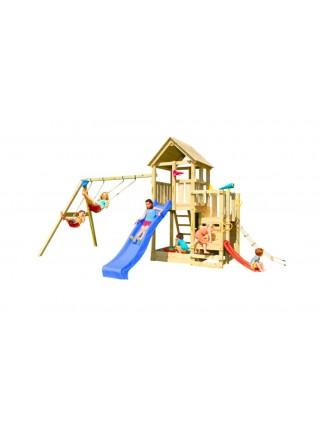 Детская игровая площадка Blue Rabbit PENTHOUSE + SWING