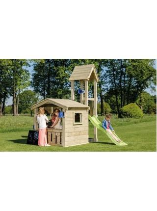 Детская игровая башня с домиком Blue Rabbit LOOKOUT