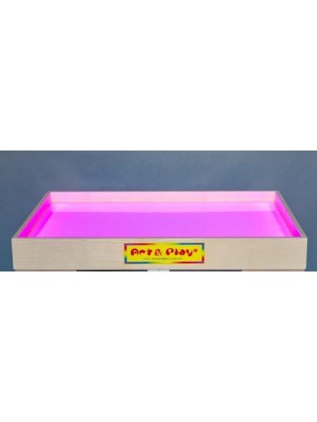 Розвиваюча світлодіодна пісочниця кольорова - Ясень / 700 × 500