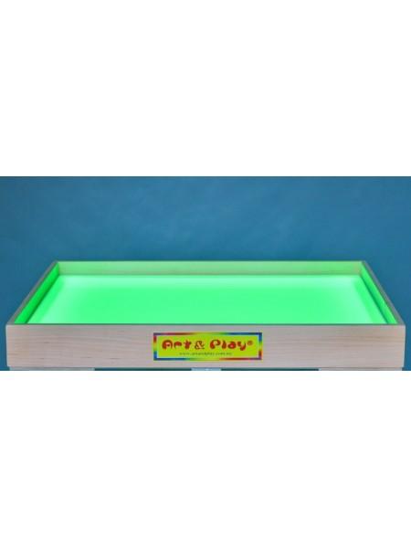 Розвиваюча світлодіодна пісочниця кольорова - Вільха / 700 × 500