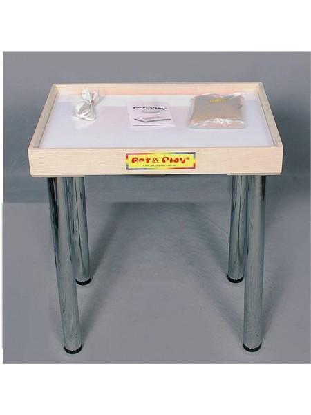 Світловий стіл-пісочниця - Ясень / 700 × 500