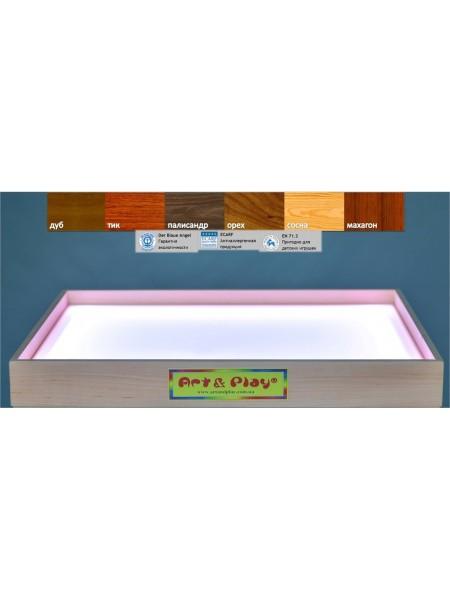 Світлодіодний планшет міні білий - ВІЛЬХА / 500 × 330