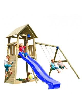 Детская площадка Blue Rabbit BELVEDERE + CHALLENGER