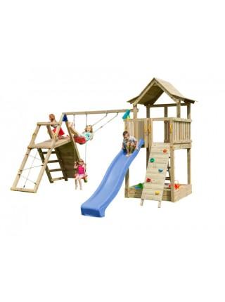 Детская игровая площадка Blue Rabbit PAGODA + CHALLENGER