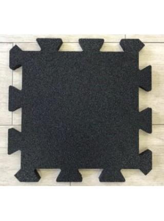 Плитка з гумової крихти «ПАЗЛ» 455х455 мм ТМ «УкрПліт»
