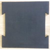 Цельнолитая резиновая плитка ТМ «УкрПлит-ТХ» 700мм х 700мм х 20мм