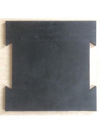 Суцільнолита гумова плитка ТМ «УкрПліт-ТХ» 700мм х 700мм х 20мм