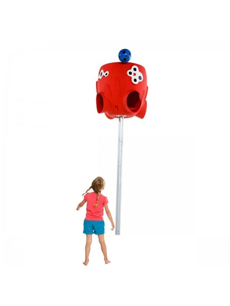 Баскетбольная корзина для мячей Осьминог