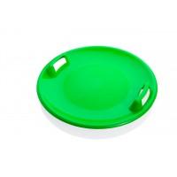 Санки-ледянка Plastkon Superstar зеленый