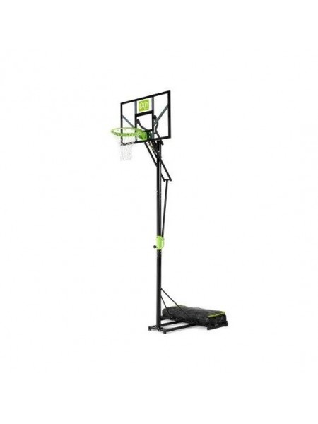 Пересувний баскетбольний щит Polestar EXIT green / black на коліщатках