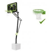 Баскетбольна стойка EXIT Galaxy black кільце з амортизацією
