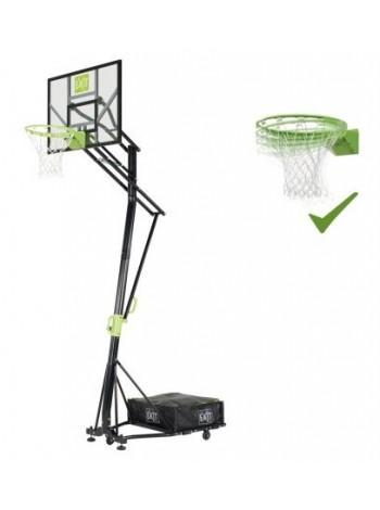 Стойка баскетбольная мобильная EXIT Galaxy + кольцо с амортизацией