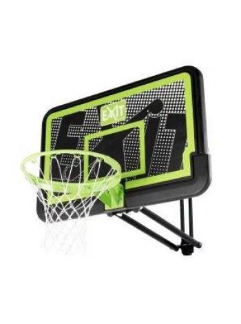 Баскетбольный щит Galaxy Exit настенный регулируемый чёрный