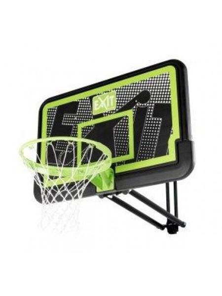 Баскетбольний щит Galaxy Exit регульований настінний чорний