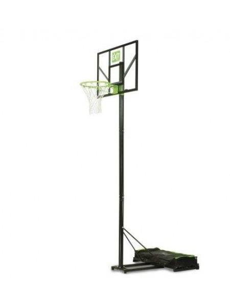 Переносна баскетбольна стійка EXIT Comet green/black